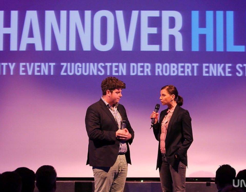 Hannover Hilft Charity Event Rene Oliver