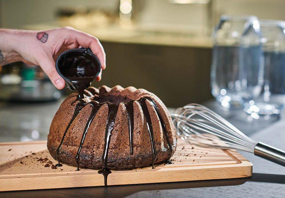 Schokoladenkuchen Schokokuchen Backbuch